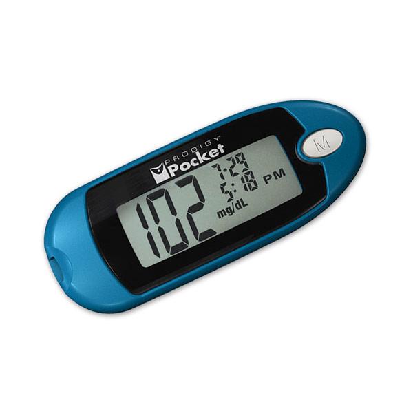 Maxiaids Prodigy Pocket Blood Glucose Meter Kit Blue