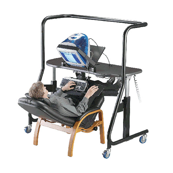 Maxiaids Sit Stand Recline Workstation Model 500