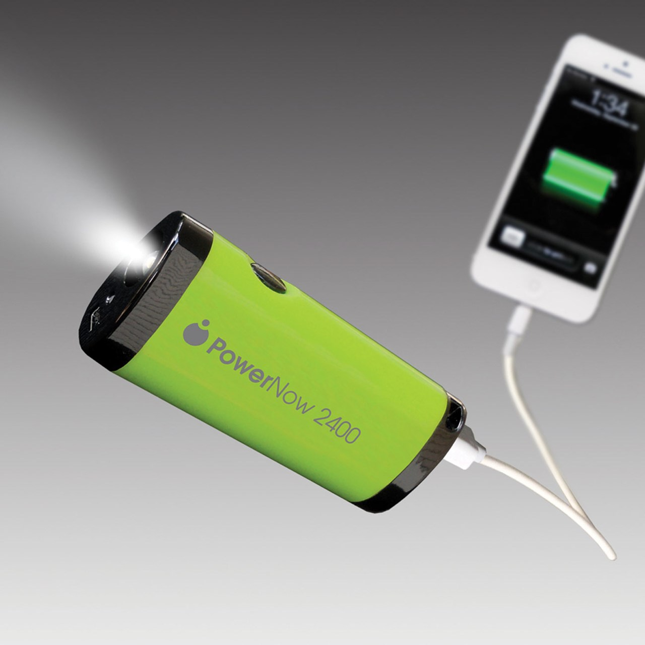 Motion powered portable charger