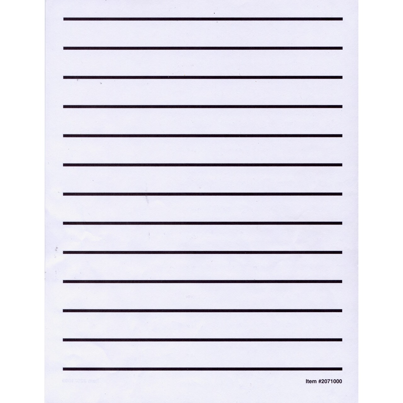 Maxiaids Low Vision Writing Paper Bold Line 1 Pad