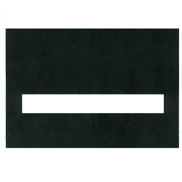 Typoscope -3-1-2 x 5 inches 50 Regular Black Plastic