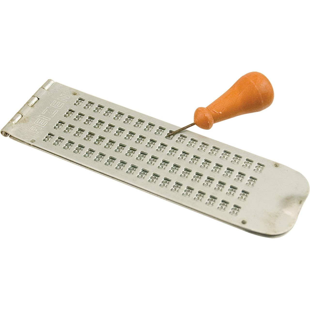 Maxiaids Braille Slate 4 Line 18 Cell Pins Down Metal