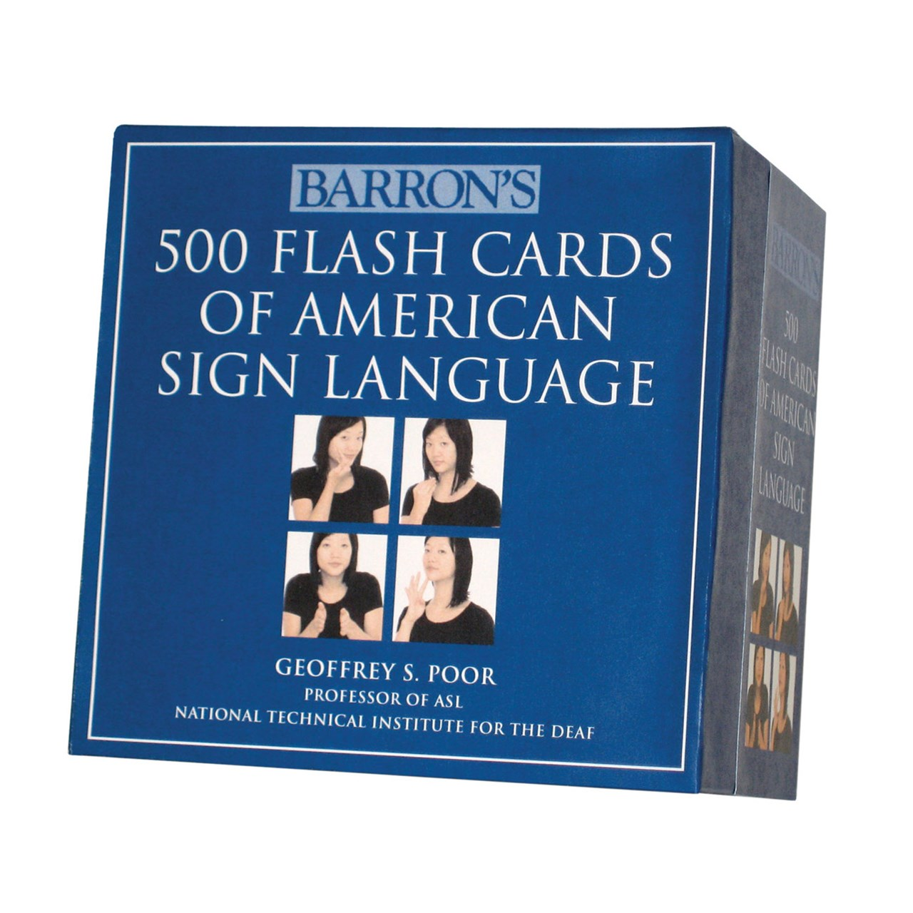 500 Flash Cards of American Sign Language: Boxed Set