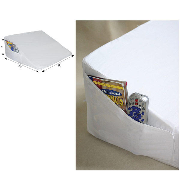 Space Saver Bed Wedge- 7 in x 20 in x 20 in