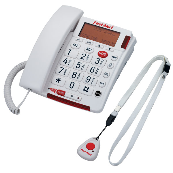 maxiaids alert big button telephone with emergency
