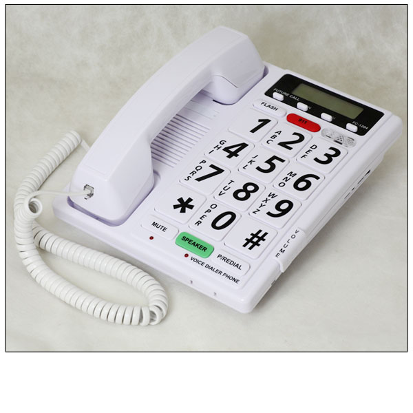 Maxiaids Voice Dialer Phone 40db Visual Ringer
