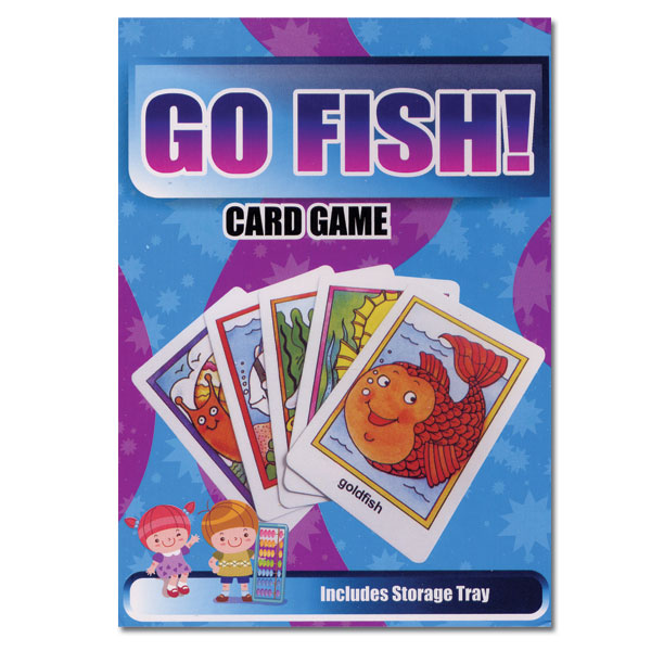 Maxiaids go fish flash cards classic matching card game for Card game go fish