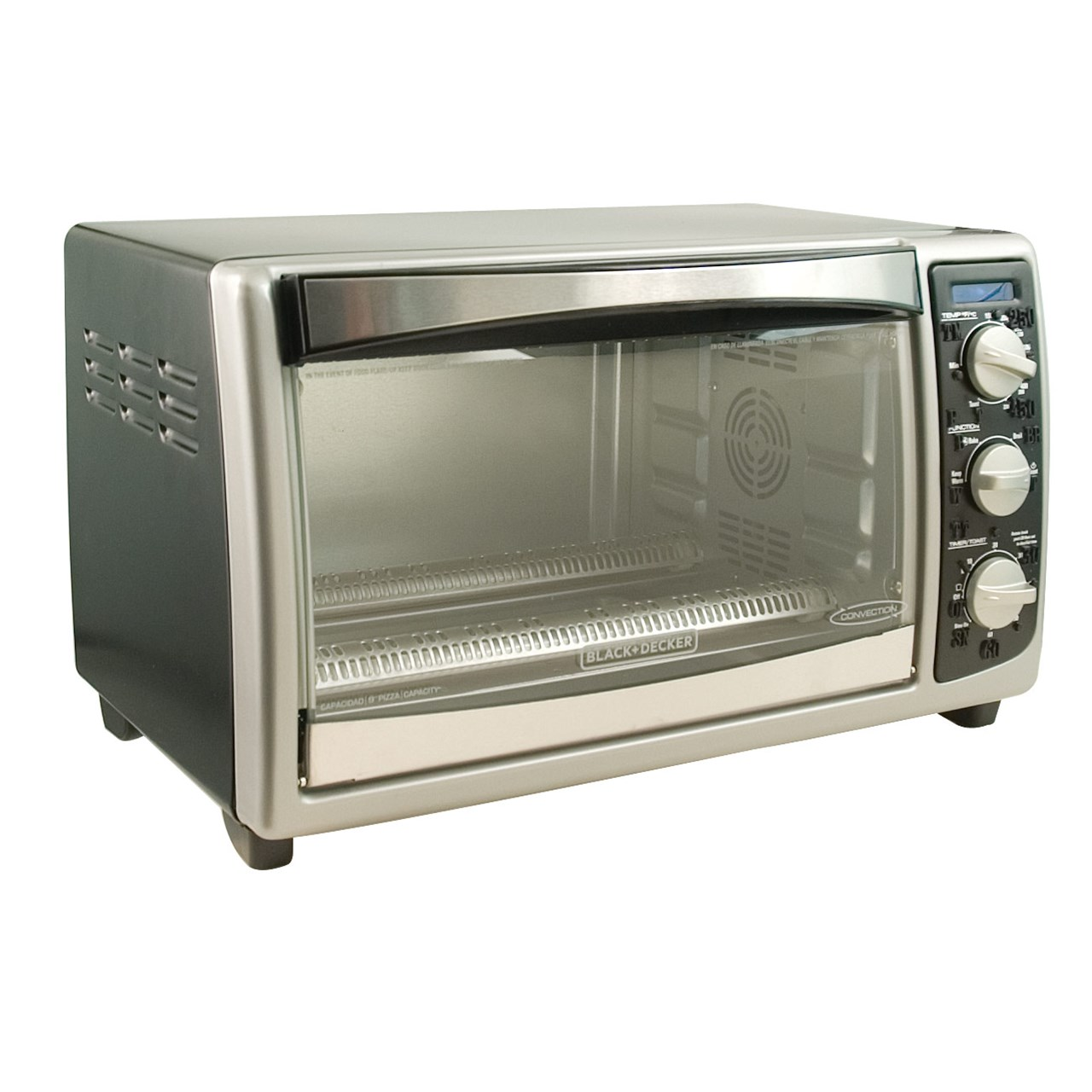 HOUSEHOLD / Tactile Convection Countertop Toaster Oven - Black