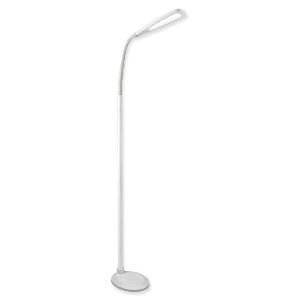 blind lighting ottlite natural daylight led flex floor lamp. Black Bedroom Furniture Sets. Home Design Ideas