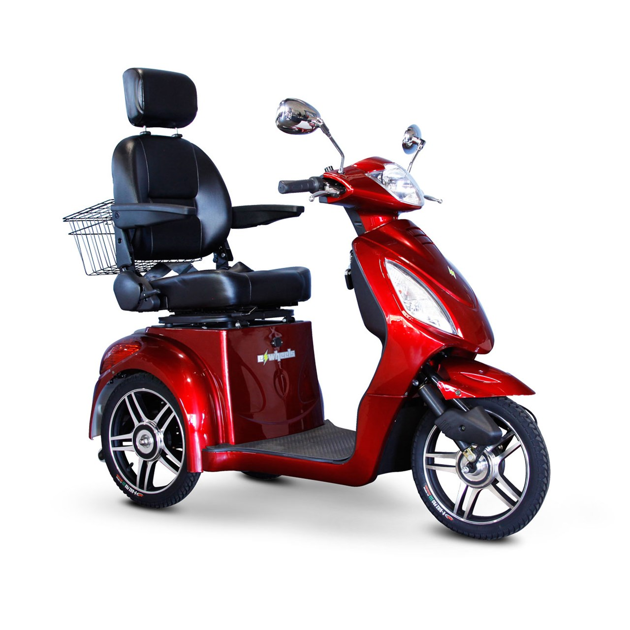 Maxiaids E Wheels Ew 36 3 Wheel Electric Senior Mobility Scooter Red