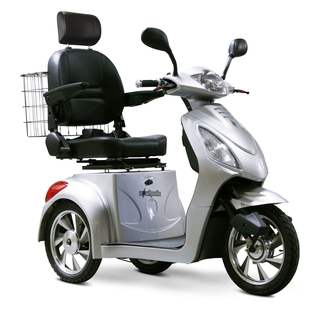 Maxiaids e wheels ew 36 3 wheel electric senior mobility for Mobility scooters