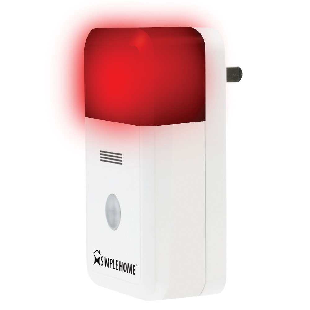 Maxiaids Simple Home Smart Wi Fi Alarm Siren