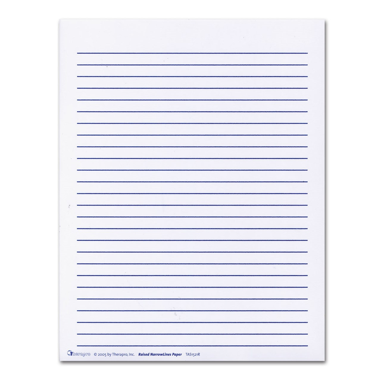 raised line writing paper This is a six stage series of handwriting papers that begins with clearly defined writing spaces and perceptual cues that fade in successive stages as the student.