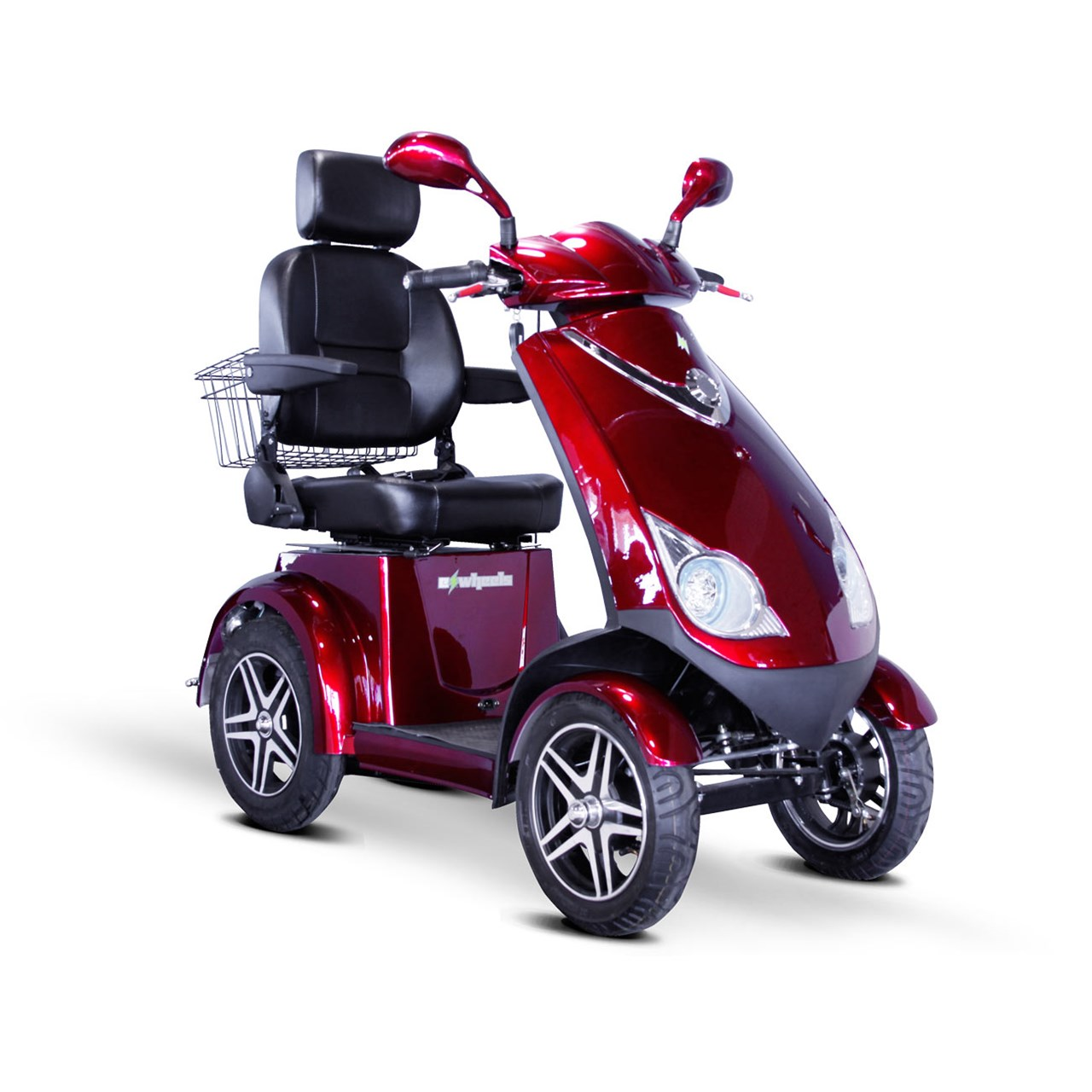 Maxiaids e wheels ew 72 4 wheel electric senior mobility for Motorized scooters for elderly