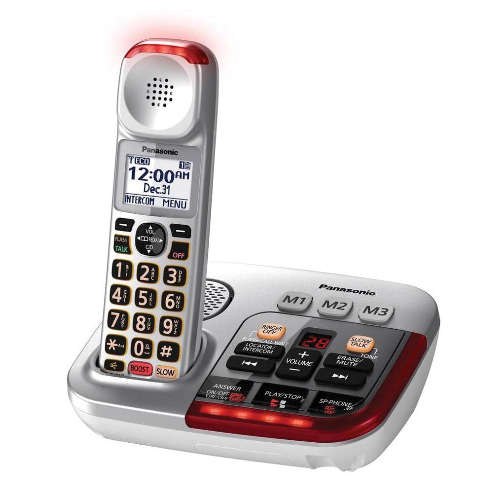 MaxiAids   Panasonic KX-TGM450S Amplified Cordless Phone ...
