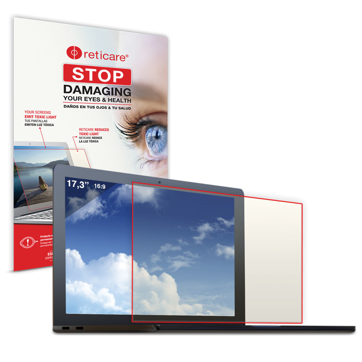 Maxiaids The Reticare Eye And Screen Protector For