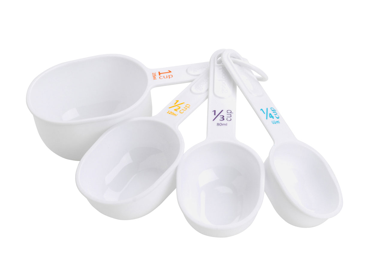 Maxiaids 4 Piece Big Number Measuring Cups For