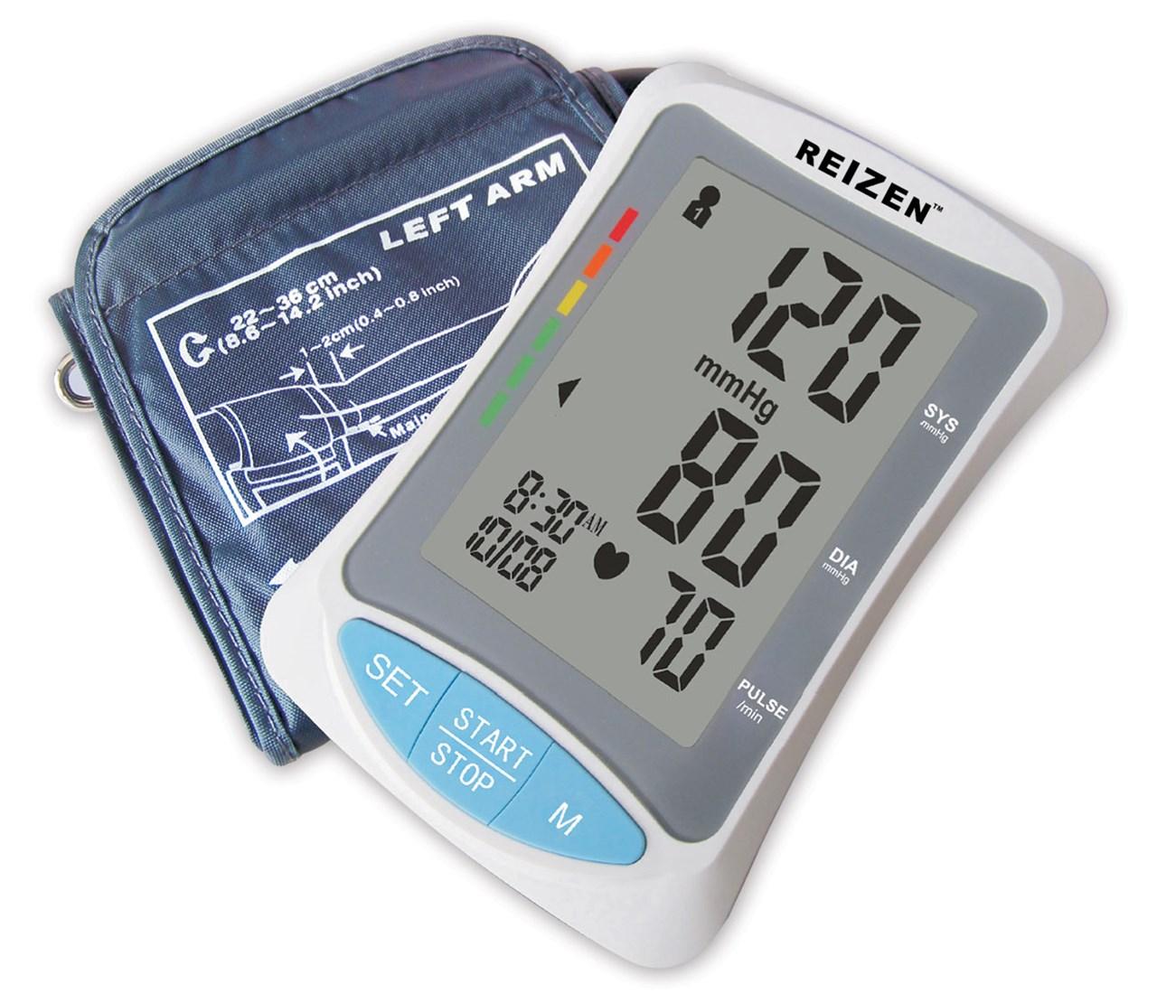 Talking Arm-Type Blood Pressure Monitor- English+Spanish