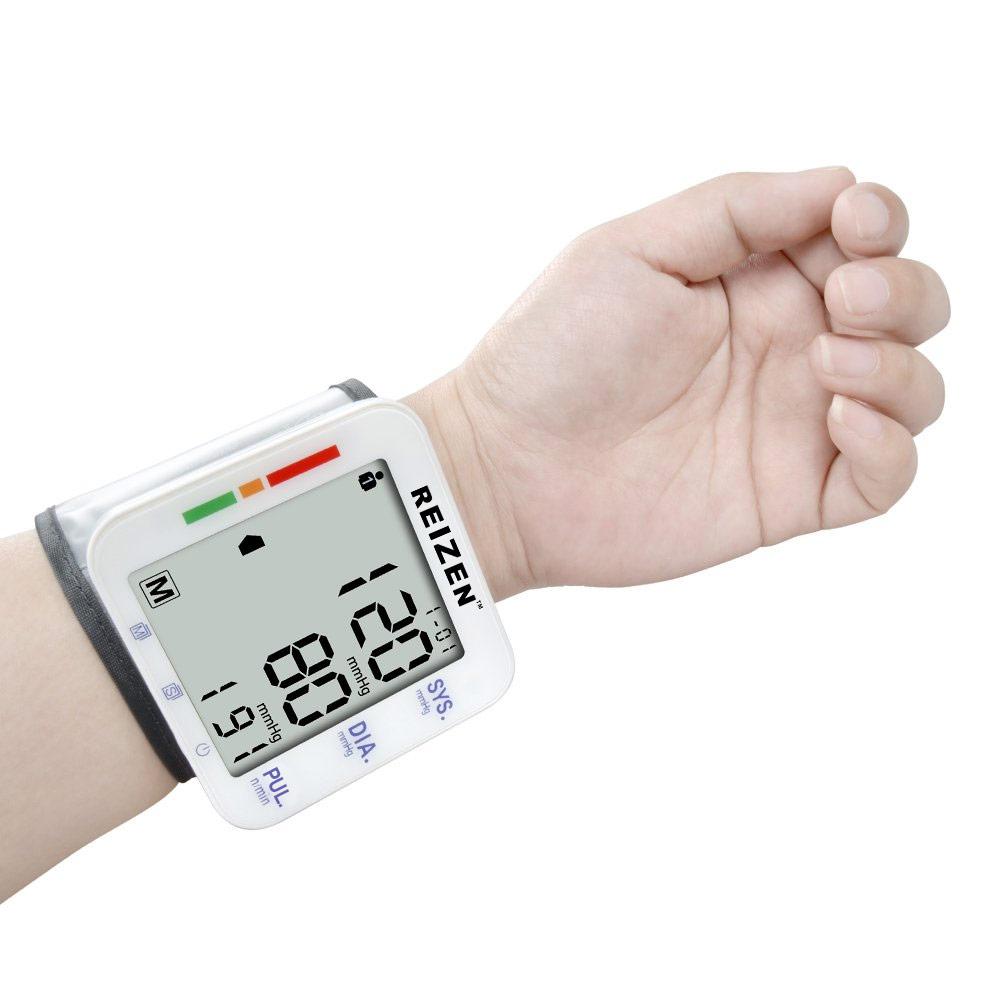 Reizen Wrist Talking Blood Pressure Monitor- English