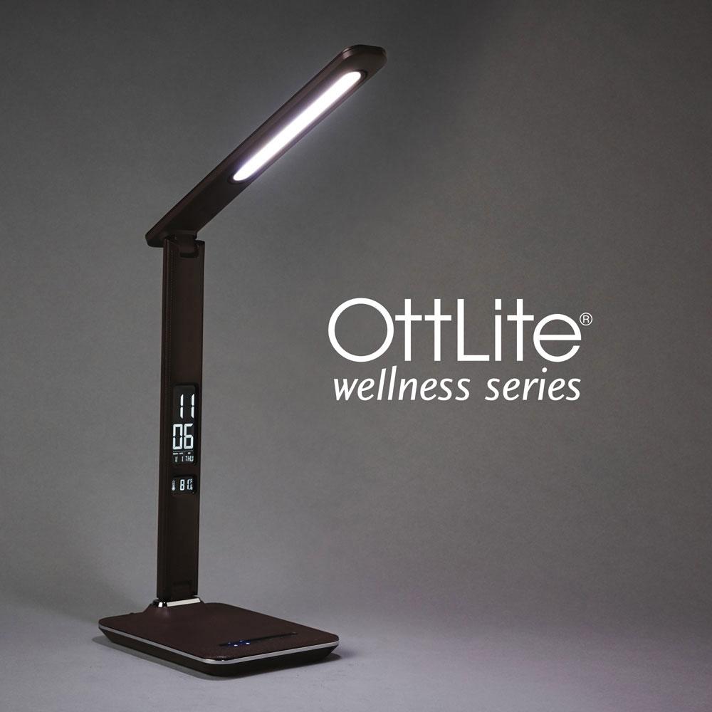 Maxiaids Ott Lite Renew Led Desk Lamp Brown