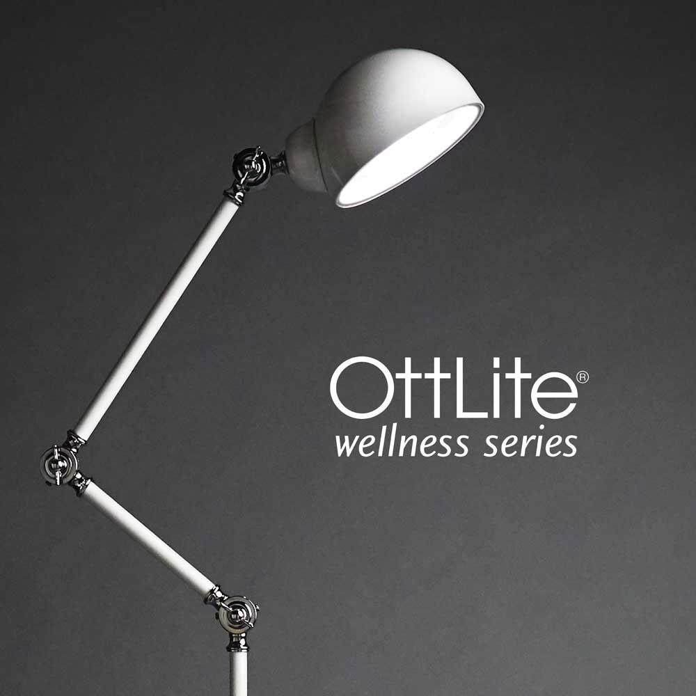 Maxiaids Ott Lite Revive Led Floor Lamp White